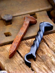 "breezingby: ""Railroad Spike… = into a Bottle Opener! Nice! """