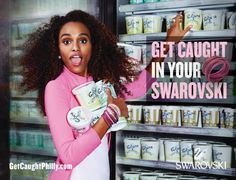 Swarovski: Get caught in your Swarovski, 2 http://adsoftheworld.com/media/print/swarovski_get_caught_in_your_swarovski_2