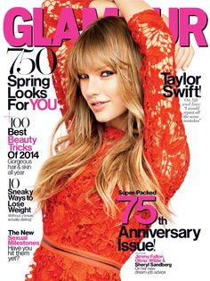 Glamour - March 2014 #taylorswift #glamour #magazine #march #2014