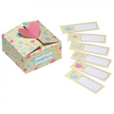 Treat Boxes - Teatime Design - Pack of 12