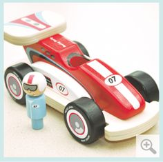 racing rocky - Indigo Jamm designer toys from a UK based company Toddler Toys, Kids Toys, Making Wooden Toys, Traditional Toys, Designer Toys, Wood Toys, Classic Toys, Wooden Diy, Toys For Girls