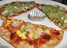 Mexican Tortilla Pizza ~ spicy hot!