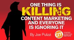 If your content is the same as everybody else's, why would anyone consume it? Discover the Content Tilt   http://contentmarketinginstitute.com/2016/02/killing-content-marketing/