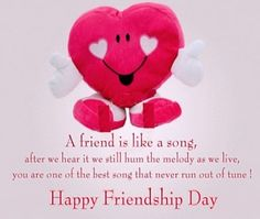 Happy friendship day wishes images with best quotes for special boyfriends and girlfriends and romantic images and sweet wishes quotes. When Is Friendship Day, Friendship Day Quotes Images, Friendship Day Greetings, Happy Friendship Day Quotes, International Best Friend Day, International Friendship Day, Happy Friends Day, Wishes For Friends, Friendship Day Wallpaper