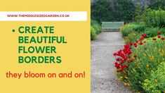How to create stunning garden borders - essential tips - YouTube Victorian Gardens, Garden Borders, Tropical Garden, Urban Landscape, Garden Plants, Gardening Tips, Lush, Beautiful Flowers, Bungalow Ideas
