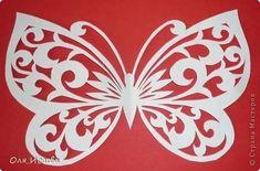 Открытка Вырезание Мои первые бабочки Бумага фото 3