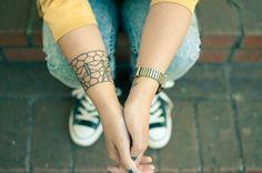 Filipino Neotribal Tattoo http://tattoos-ideas.net/filipino-neotribal-tattoo/ Arm Tattoos, Black Ink