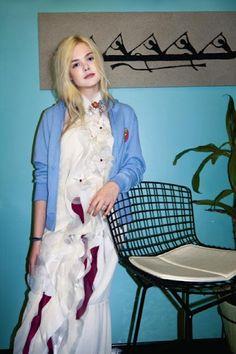 Elle Fanning - Rodarte S/S 2012 photographed by Bill Owens