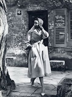 Christian Dior, 1957. Photo: Guy Arsac.
