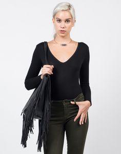 Simple Jersey Bodysuit