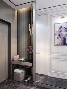 61 Dressing Table Design Ideas - New Deko Sites Home Entrance Decor, Entryway Decor, Bedroom Decor, Bedroom Apartment, Design Hall, Flur Design, Home Room Design, Home Interior Design, House Design