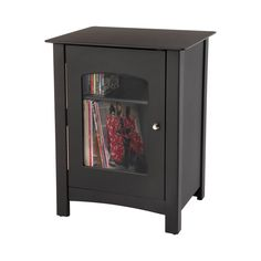 Change up the look of your living room or den with this Miller Entertainment Cabinet. Specifically designed for storing music, the tabletop is a great place for your stereo or an old-fashioned record p...  Find the Miller Entertainment Cabinet, as seen in the Cabinets Collection at http://dotandbo.com/category/furniture/bookcases-and-cabinets/cabinets?utm_source=pinterest&utm_medium=organic&db_sku=109751