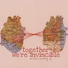 Together we're invincible.