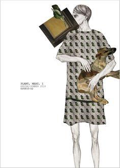 patternprints journal: EXTREMELY ORIGINAL FASHION ILLUSTRATIONS BY ZHU WENTIAN
