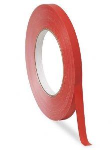 Taśma PVC do zamykarki komplet: czerwona
