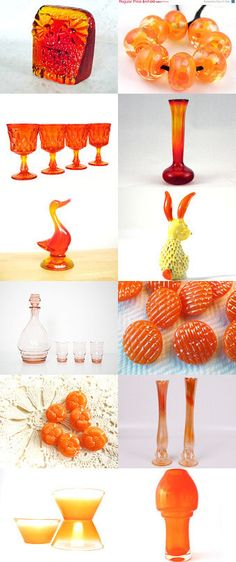 Vibrant Orange Glass - is it bright enough for you