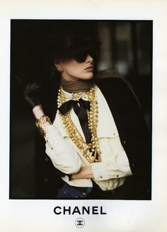 vintage chanel (well, most likely very early nineties)