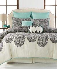 Dover Paisley 8-Piece Comforter Sets