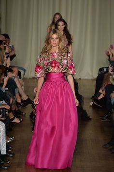 Marchesa Spring 2015 Ready-to-Wear - Collection: