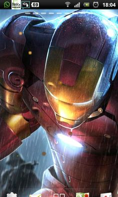 Iron Man 3 Live Wallpaper - Android Apps on Google Play