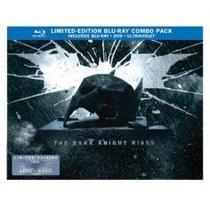 The Dark Knight Rises: Limited Edition Bat Cowl (Blu-ray/DVD Combo+UltraViolet Digital Copy) (Warner Home Video)