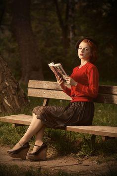 a reader who follows her story ///gretamacabre: Greta O'Hara, 2012 by Marko Mihin