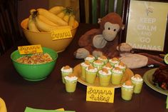 Liam's Monkey party