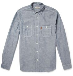 Burberry Brit Slub Chambray Shirt | MR PORTER
