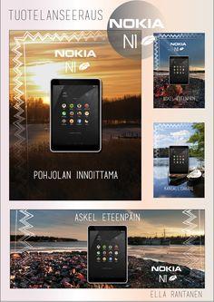 Tuotelanseeraus Nokia N1 -tabletille