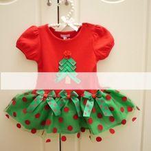 2016 New children clothing Christmas clothes baby girl dress vestidos infantis casual dress kids bebe red color tutu dress(China (Mainland))