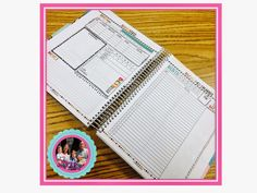 Adding Pages to an Erin Condren Planner for the Teacher blogger/seller