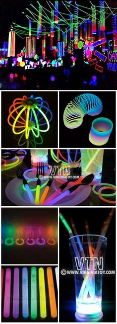 Glow-in-the-Dark Spooktacular Halloween Party Decorations & Ideas Glorious Glow Party! Glow-in-the-Dark Spooktacular Halloween Party Decorations & Ideas Neon Birthday, 13th Birthday Parties, 16th Birthday, 16 Birthday Ideas, Dance Party Birthday, Glow In Dark Party, Glow Stick Party, Neon Glow, Quinceanera Party