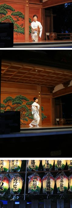 I played Japanese dance on September 10,2015 at Kitazawa Hachiman Shrine. Every year, it is increasing more and more people who come in there.  2011年から毎年、北澤八幡神社の例大祭で能舞台に立たせていただいております。 今年は、9月5日に奉納舞を舞わせていただきました。毎年、どんどん人が増えて今年もこんなに賑わっていました。