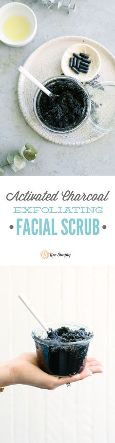 Super easy activated charcoal scrub for your face. Leaves my skin clean and refreshed. Love this! And who knew charcoal was so easy to find, and has so many uses?