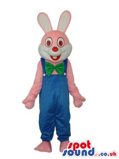 #rabbit #mascots from #spotsound_uk -Discover all our #rabbit #bunny #mascots #costumes for your marketing events on: http://www.spotsound.co.uk/21-rabbit-mascot - 7 sizes available with fast shipping over the world ! We can also customize your future #rabbit #mascot ! Visit us ;)