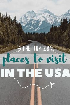 After three cross country road trips, here is my list of the best places, cities, parks, etc to go and visit on your next vacation in the US.