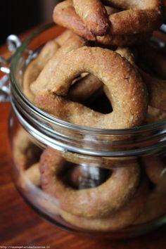 Veg biscotti dolci di ceci