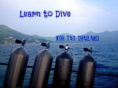Learning to dive in Paradise (Koh Tao, Thailand) @shoreskylines http://www.fromshorestoskylines.com/learning-to-dive-koh-tao/