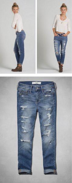 Abercrombie Allie Boyfriend Jeans