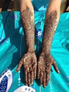 I love the most proximal part of the henna