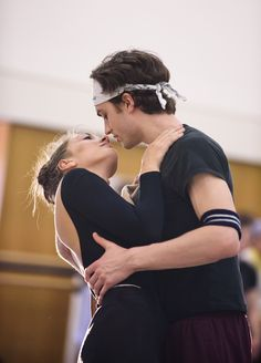 Tierney Heap and Matthew Ball in rehearsal for Carlos Acosta's Carmen, The Royal Ballet Season 2015/16