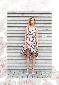 Bardzo kobieca #sukienka w kwiaty #topsecret