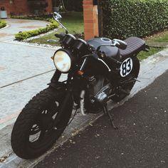 Suzuki Gs500 brat. #gs500 #suzuki #caferacer