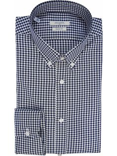 Casual checkered shirt with Button-down collar DELSIENA