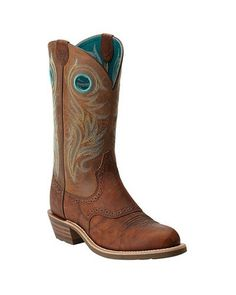 Ariat® Ladies' Shadow Rider Round Toe Boots