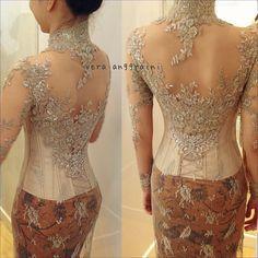 Vera Kebaya, Kebaya Lace, Batik Kebaya, Kebaya Wedding, Wedding Dresses, Indonesian Kebaya, Modern Kebaya, Muslim Dress, Asian Fashion