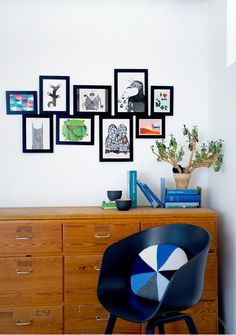 a creative little nook with the hay about a chair in all black http