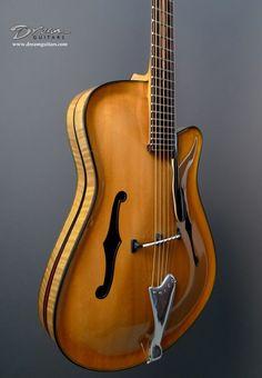 Boaz SS Jazz Archtop Guitar