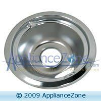 """General Electric GENERAL ELECTRIC WB32X5075 6 """" CHROME DRIP PAN by General Electric. $5.29. THIS GENERAL ELECTRIC WB32X5075 6 """" CHROME DRIP PAN WORKS WITH MANY GENERAL ELECTRIC, HOTPOINT, KENMORE AND OTHER ELECTRIC RANGES. DETAILS: DRIP PAN (CHROME, 6 - INCH DIAMETER )"""