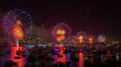 New Year's Eve Fireworks // #Silvester-Feuerwerk - #Sydney, Australia